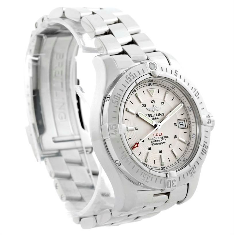 10534 Breitling Colt Automatic Stainless Steel Mens Watch A17380 SwissWatchExpo