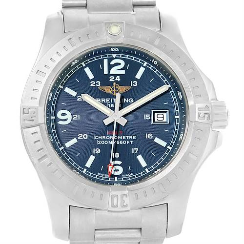 Photo of Breitling Colt Quartz Stainless Steel Mens Watch A74388 Box Papers