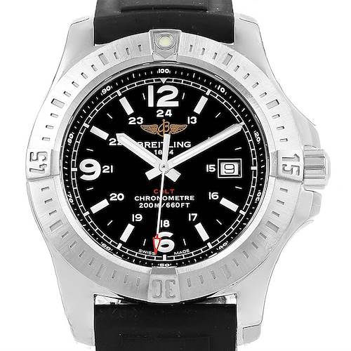Photo of Breitling Colt Quartz Steel Mens Watch A74388 Box Papers