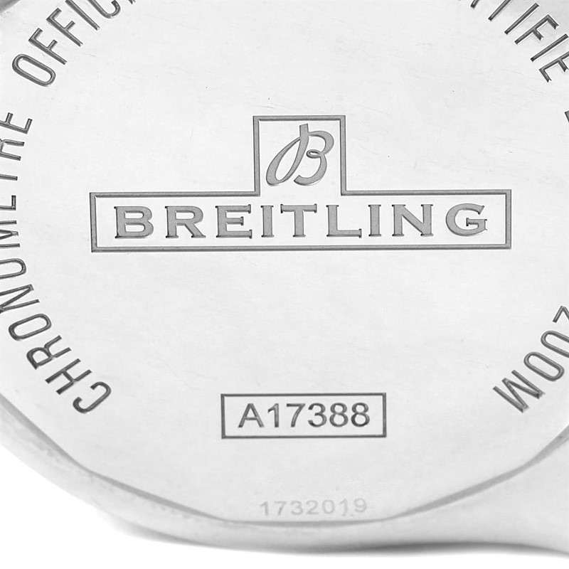 Breitling Colt 44mm Black Dial Automatic Steel Mens Watch A17388 SwissWatchExpo