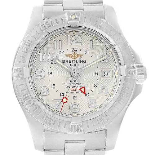 Photo of Breitling Colt GMT 40.5 mm Silver Dial Steel Mens Watch A32350