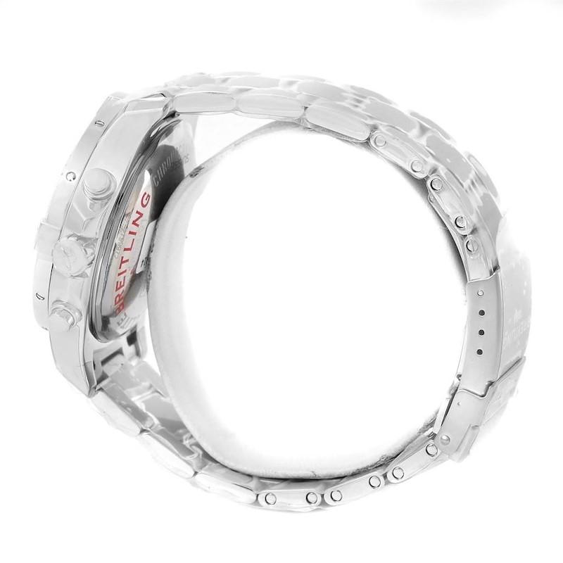 Breitling Colt Blue Dial Chronograph Steel Watch A13388 Unworn SwissWatchExpo