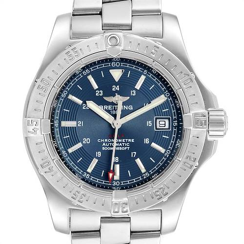 Photo of Breitling Colt 41mm Blue Dial Steel Mens Watch A17380