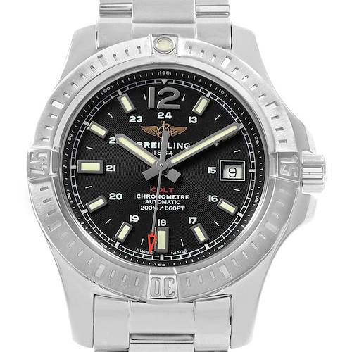 Photo of Breitling Colt Black Dial Automatic Steel Mens Watch A17313