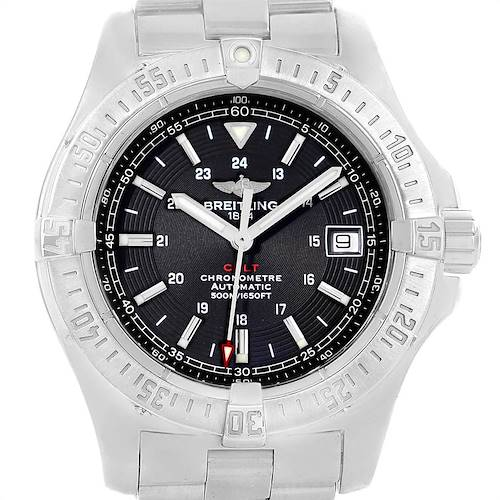 Photo of Breitling Colt 41mm Black Dial Automatic Steel Mens Watch A17380