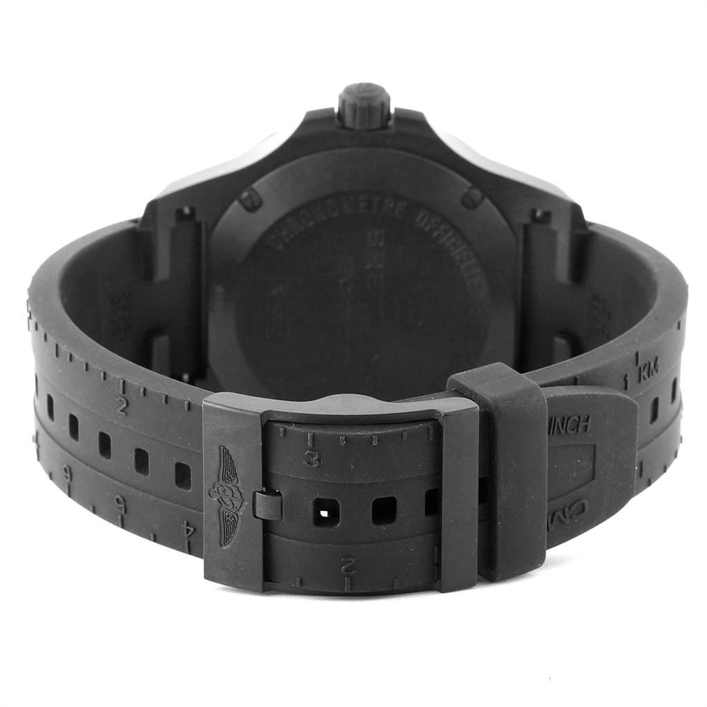 22075 Breitling Colt Skyracer 45 PVD Ultralight Polymer Mens Watch X74320 SwissWatchExpo