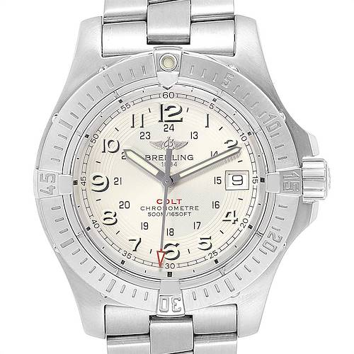 Photo of Breitling Colt Quartz Silver Dial Stainless Steel Mens Watch A74380