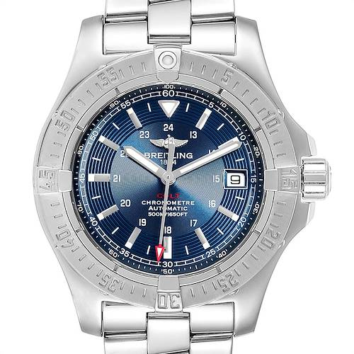 Photo of Breitling Colt Blue Dial Automatic Steel Mens Watch A17380