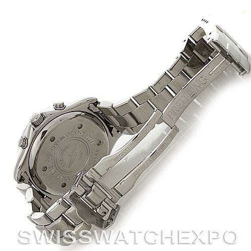 Breitling Colt Chronograph Stainless Steel Mens Watch A53035 SwissWatchExpo