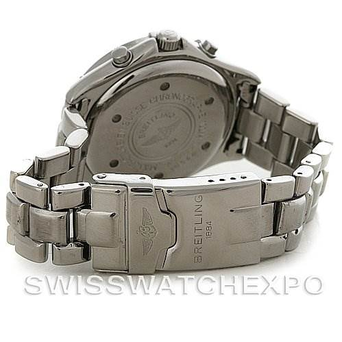 4102 Breitling Colt Chronograph Stainless Steel Mens Watch A53035 SwissWatchExpo