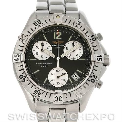 Photo of Breitling Colt Chronograph Stainless Steel Mens Watch A53035
