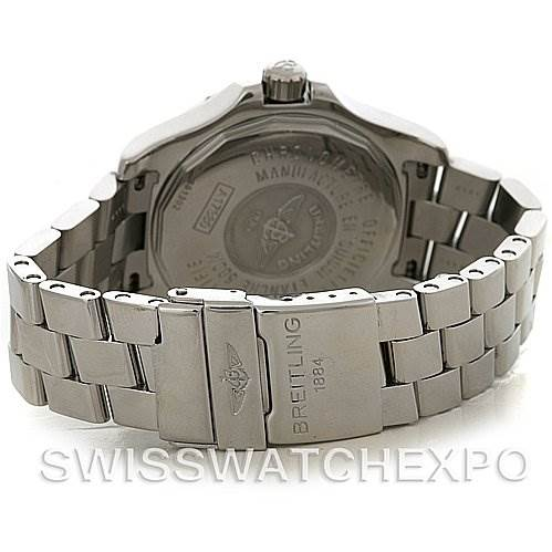 4106 Breitling Colt Automatic Stainless Steel Mens Watch A17380 SwissWatchExpo