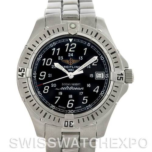 Photo of Breitling Colt Stainless Steel Mens Watch A64350