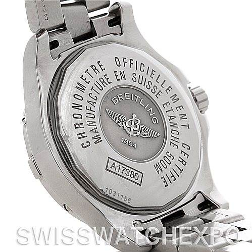 5063 Breitling Colt Automatic Stainless Steel Mens Watch A17380 SwissWatchExpo