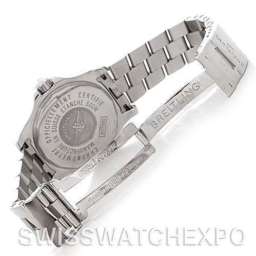 Breitling Colt Automatic Stainless Steel Mens Watch A17380 SwissWatchExpo