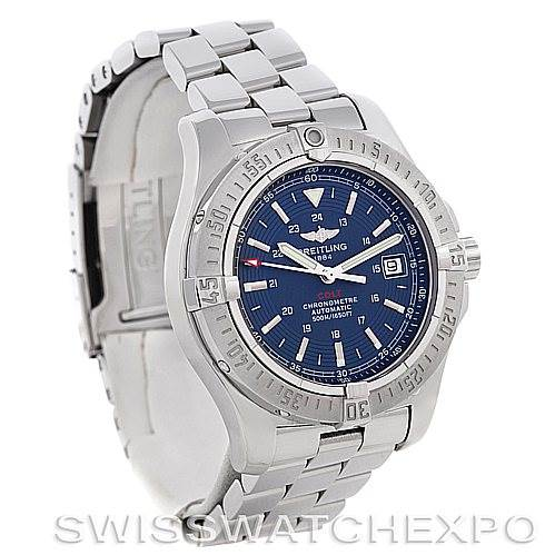 4486 Breitling Colt Automatic Stainless Steel Mens Watch A17380 SwissWatchExpo