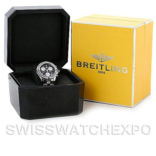 Breitling Colt Chronograph Stainless Steel Mens Watch A73350 SwissWatchExpo