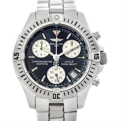 Photo of Breitling Colt Chronograph Stainless Steel Mens Watch A73350