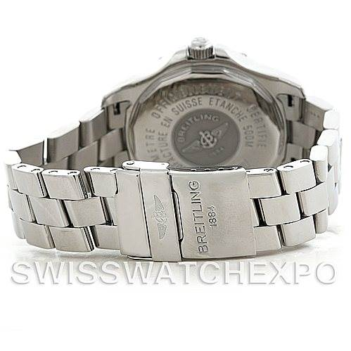 6017 Breitling Colt Chronometer GMT Automatic Watch A32350 SwissWatchExpo