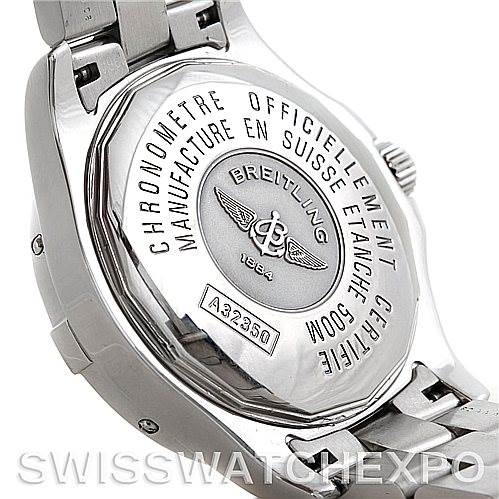 Breitling Colt Chronometer GMT Automatic Watch A32350 SwissWatchExpo