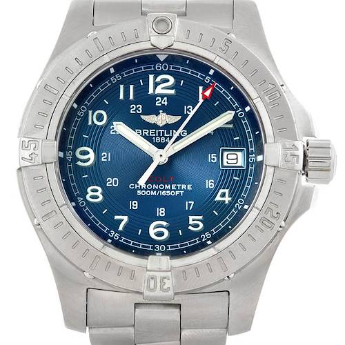 Photo of Breitling Colt Quartz II Stainless Steel Mens Watch A74380