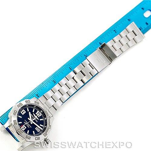7700 Breitling Colt 44 Quartz Stainless Steel Mens Watch A74387 SwissWatchExpo
