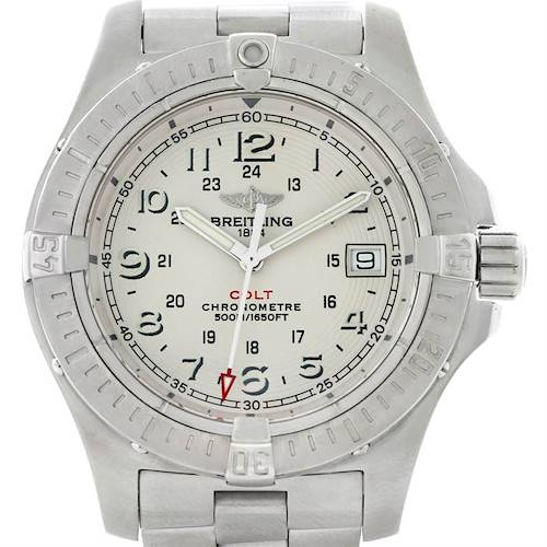 Photo of Breitling Colt II Quartz Stainless Steel Mens Watch A74380