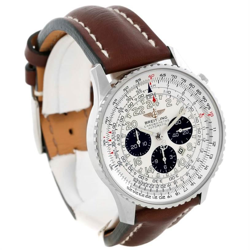 Breitling Navitimer Cosmonaute Chronograph Mens Watch A22322 SwissWatchExpo