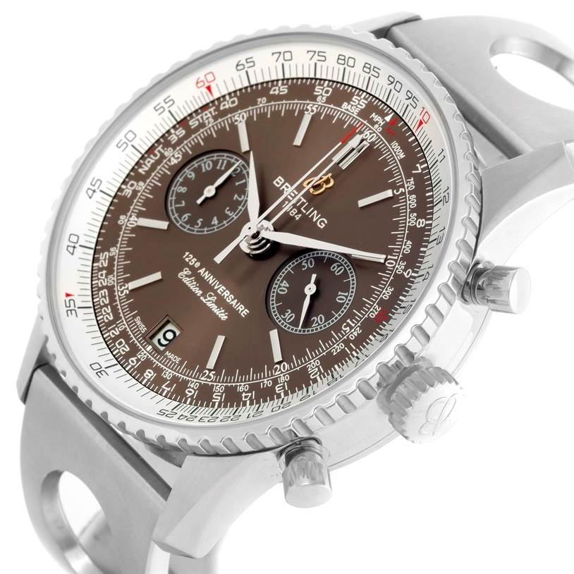 10298 Breitling Navitimer 125th Anniversary Limited Edition Watch A26322 SwissWatchExpo