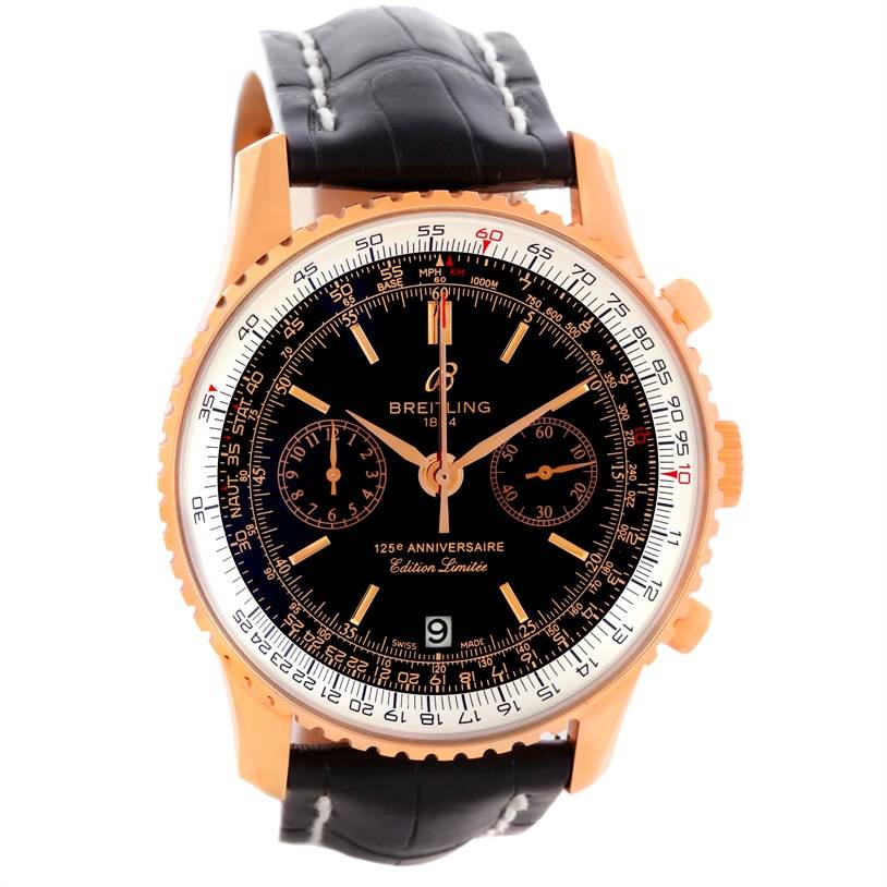 10647 Breitling Navitimer 125 Anniversary Limited Edition Watch R26322 SwissWatchExpo