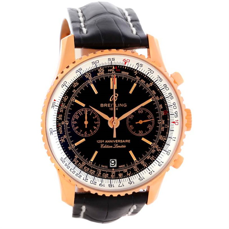 Breitling Navitimer 125 Anniversary Limited Edition Watch R26322 SwissWatchExpo