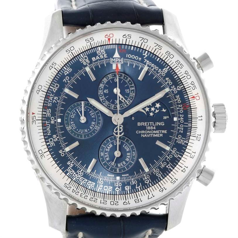 10745 Breitling Navitimer 1461 Chrono Moonphase Limited Edition Watch A19370 SwissWatchExpo