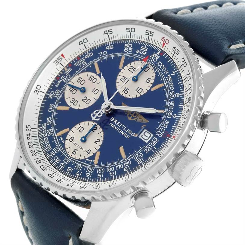 11507 Breitling Navitimer II Automatic Steel Watch A13022 SwissWatchExpo