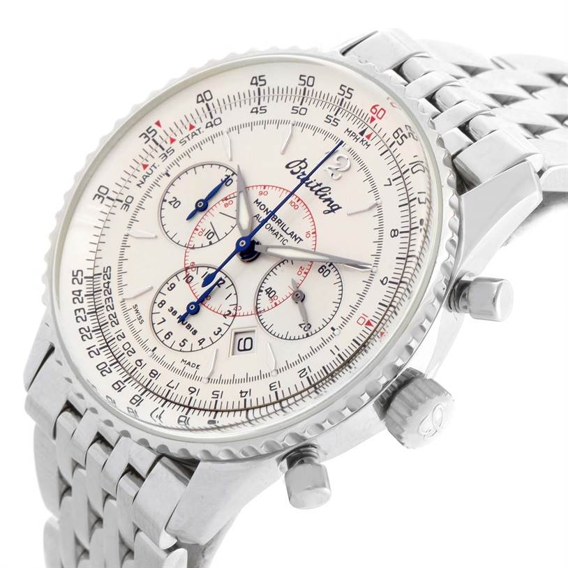 11222 Breitling Navitimer Montbrilliant Chronograph Steel Mens Watch A41330 SwissWatchExpo