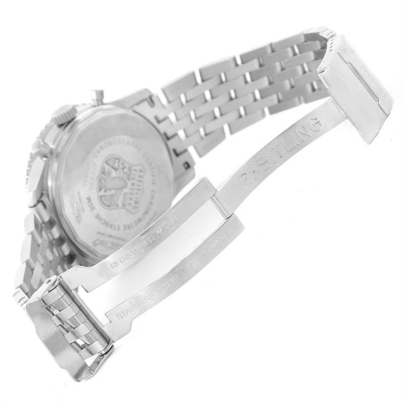 Breitling Navitimer Fighter Chronograph Steel Watch A13330 Unworn SwissWatchExpo