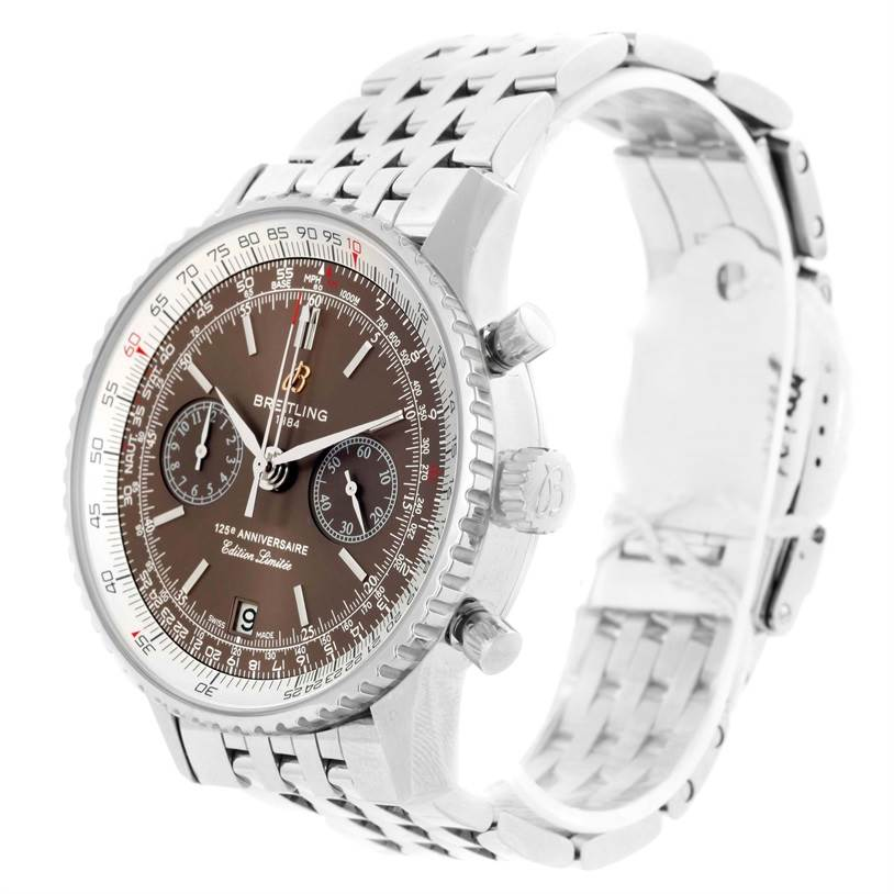 10298A Breitling Navitimer 125th Anniversary Limited Edition Watch A26322 SwissWatchExpo