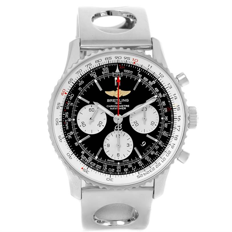 13000 Breitling Navitimer 01 Automatic Steel Watch AB0120 year 2013 SwissWatchExpo