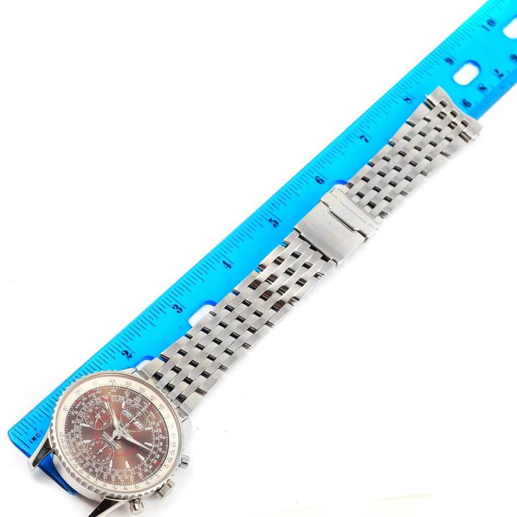 14775 Breitling Navitimer Montbrillant Datora Steel Mens Watch A21330 SwissWatchExpo