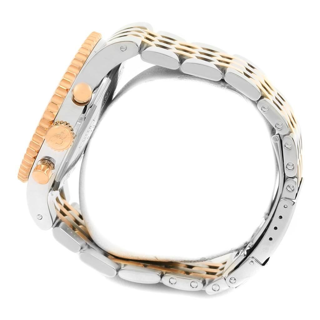 Breitling Montbrillant Legende Steel Rose Gold Watch C23340 Box Papers SwissWatchExpo