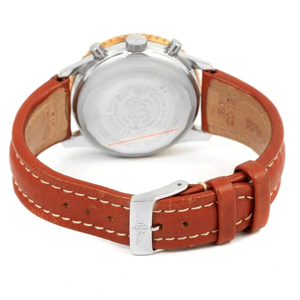 Breitling Navitimer 92 Top Gun Limited Edition Steel Gold Watch D30022 SwissWatchExpo