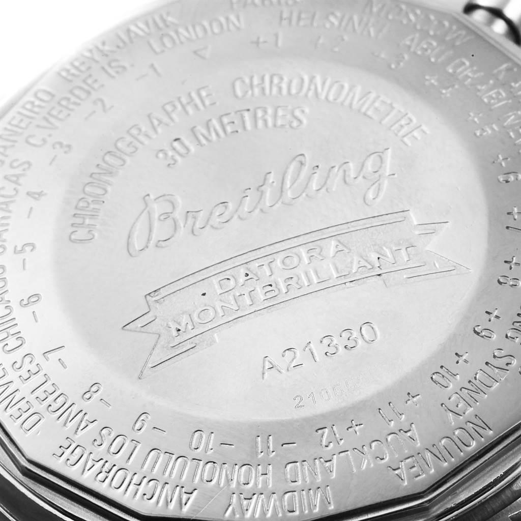 Breitling Navitimer Montbrillant Datora Watch A21330 Box Papers SwissWatchExpo