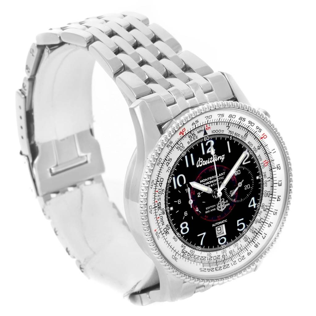 15061 Breitling Navitimer Montbrillant Steel Automatic Mens Watch A35330 SwissWatchExpo