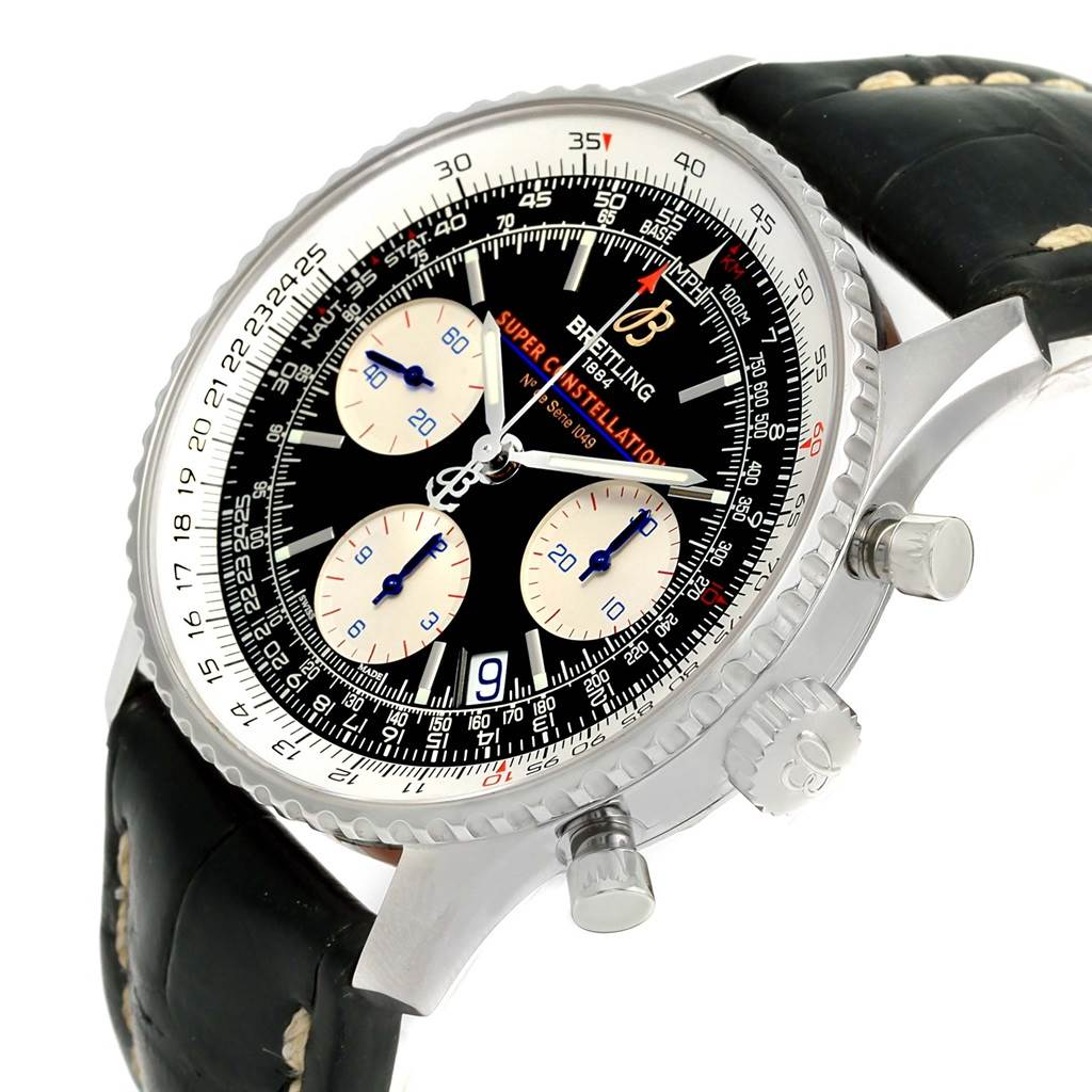 15110 Breitling Navitimer Super Constellation Limited Edition Watch A13322 SwissWatchExpo