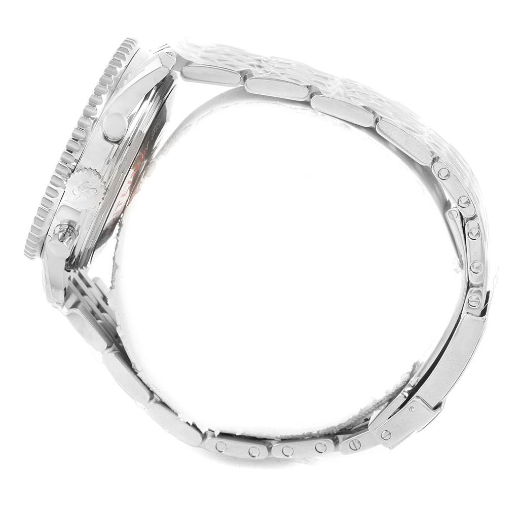 17150 Breitling Navitimer 01 Blue Dial Automatic Steel Watch AB0120 Unworn SwissWatchExpo