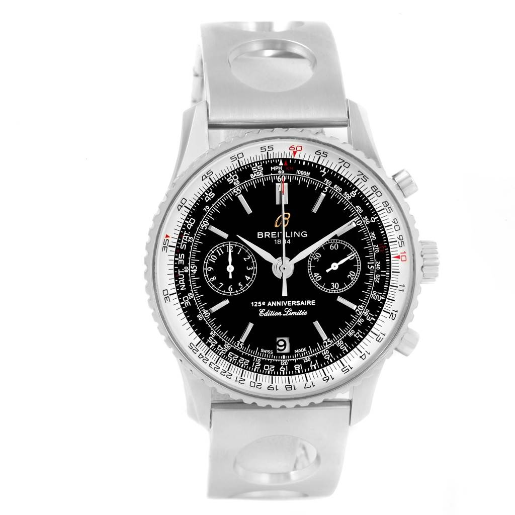 18501 Breitling Navitimer 125th Anniversary Limited Edition Watch A26322 SwissWatchExpo
