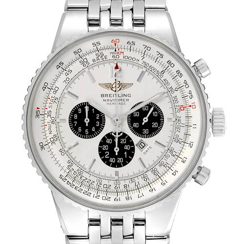 Photo of Breitling Navitimer Heritage Silver Dial Automatic Mens Watch A35340