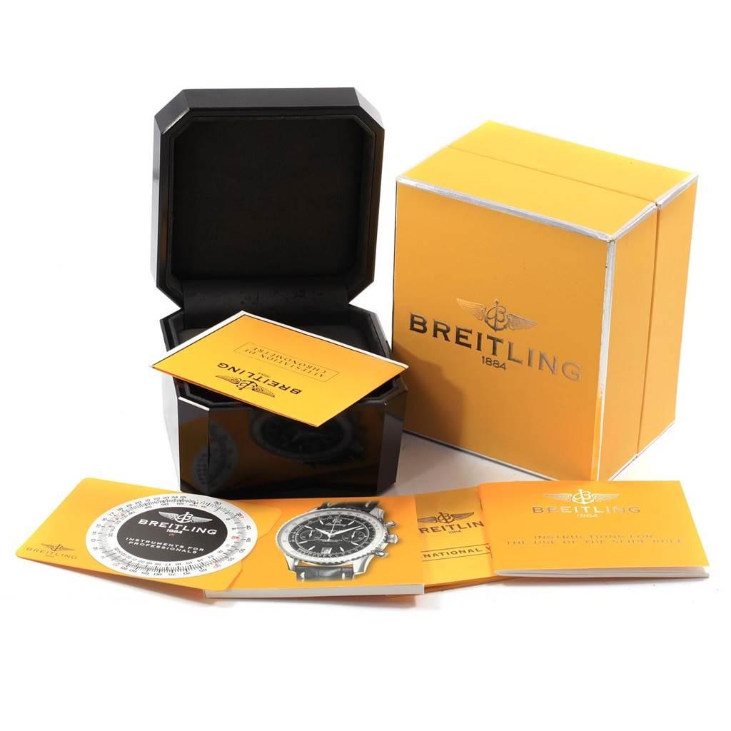 19256 Breitling Montbrillant Edition Steel Mens Watch A48330 SwissWatchExpo