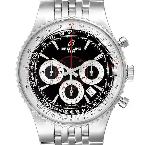 Photo of Breitling Montbrillant 47 Steel Mens Limited Edition Mens Watch A23351