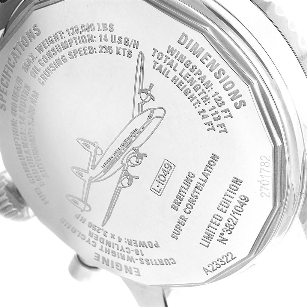 Breitling Navitimer Super Constellation Limited Edition Watch A23322 SwissWatchExpo