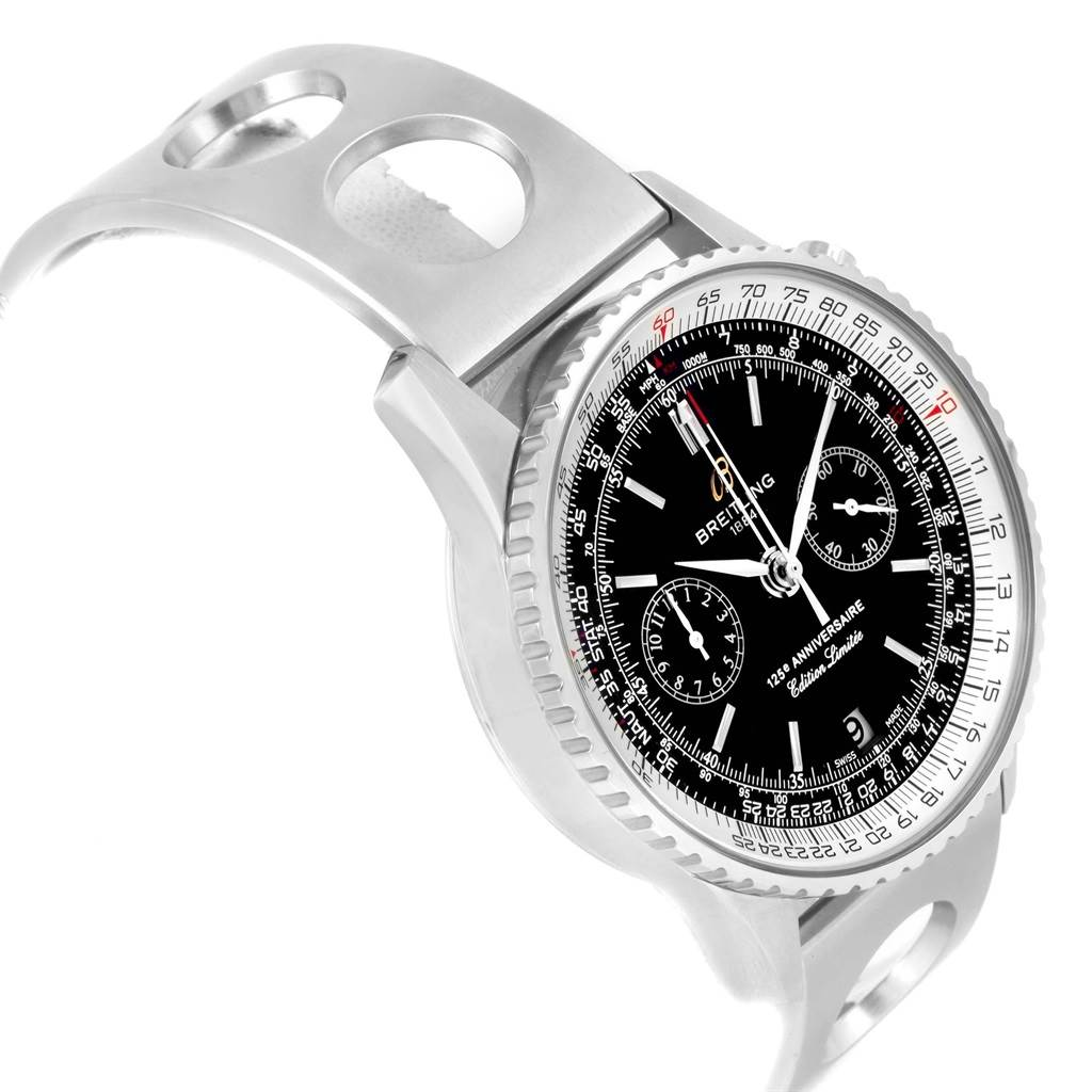 20741X Breitling Navitimer 125th Anniversary LE Mens Watch A26322 Box SwissWatchExpo